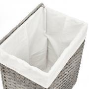 Koš na prádlo SAT šedá SATDKOSPRS (obr. 2)