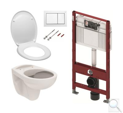WC komplet dosádrokartonu - Set TECE 5v1
