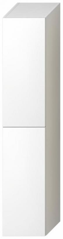 Koupelnová skříňka Jika Mio-N bílá 161,8x32,4x32,1 cm H43J7122305001