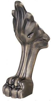 Nohy k vaně Ricordi/Zeus BRONZ