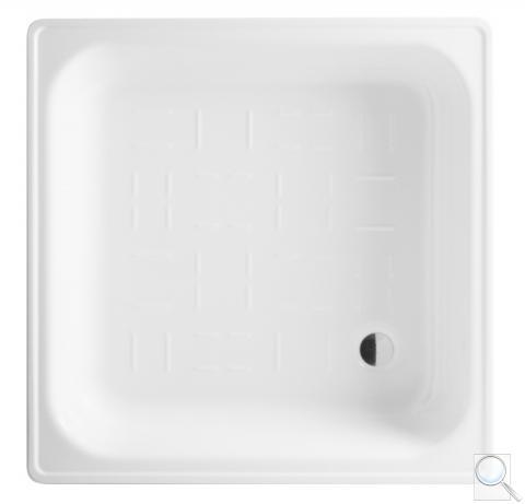 Sprchová vanička smaltovaná čtvercová Jika