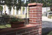 Betonové tvarovky (standard, standard ostařený červená)