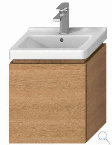 Koupelnová skříňka pod umyvadlo Jika Cubito 45x34x48 cm dub H40J4213015191 obr. 1