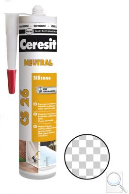Silikon Ceresit CS 26 transparent 300 ml