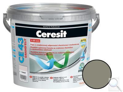 Spárovací hmota Ceresit CE 43 antracite 5 kg CG2WA