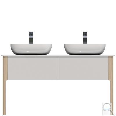 Koupelnová skříňka pod umyvadlo Naturel Skandinavia