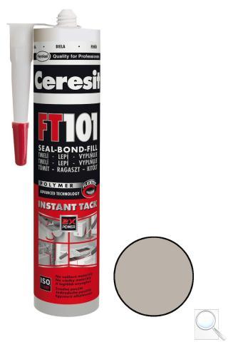 Tmel a lepidlo Ceresit FT101 280 ml šedá
