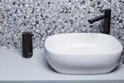 Senzorový dávkovač mýdla a dezinfekce SAT černá SATDDAVC (obr. 6)