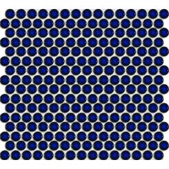 Mozaika modrá | rozměr:  29,4 x 31,5 cm | kód: MOS19DBL