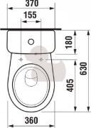 WC kombi (Technický nákres (3))