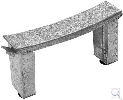 Kovové nohy stavitelné Jika H2940130000001