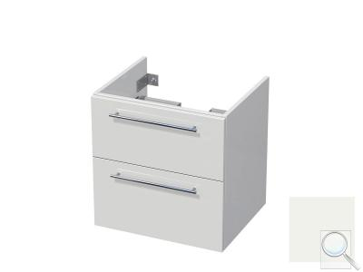Koupelnová skříňka pod umyvadlo Naturel Ratio 60x61,5x40 cm bílá lesk CU602Z56.9016G obr. 1