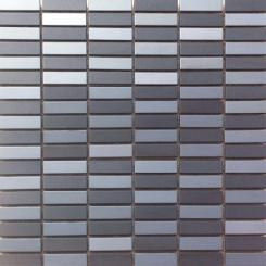 Mozaika černá   rozměr:  29,8 x 30,4 cm   kód: MOS4815MIXBK