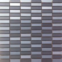 Premium Mosaic mozaika černá nerezová