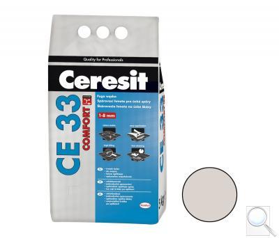 Spárovací hmota Ceresit CE 33 silver 5 kg CG1