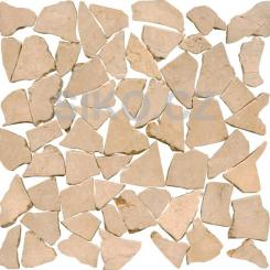 Mozaika béžová   rozměr:  30 x 30 cm   kód: STMOSCRW