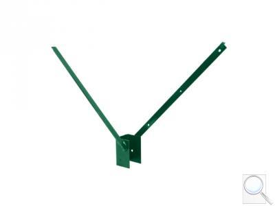 Bavolet Zn + PVC 60 x 40 mm, oboustranný V