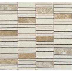 Mozaika béžová   rozměr:  30 x 30 cm   kód: STMOS2570BE