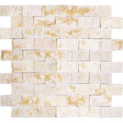 Mozaika béžová *)   rozměr:  30 x 30 cm   kód: STMOS3060CR