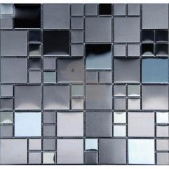 Mozaika černá   rozměr:  30 x 30 cm   kód: MOS4823BK
