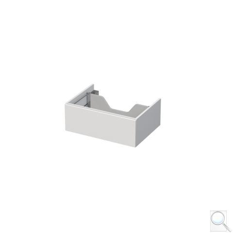 Koupelnová skříňka pod desku Naturel Ratio 70x26x50 cm bílá mat nebo lesk ZB701Z26PU.9016M