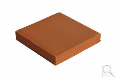 Ruční cihlová dlažba čtvercová obr. 1