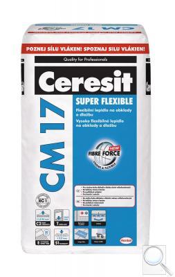Lepidlo Ceresit CM17 25 kg šedá (C2TE S1)