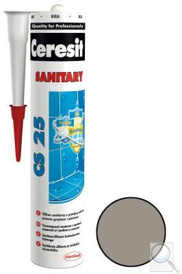 Silikon Ceresit CS 25 cementově šedá 280 ml