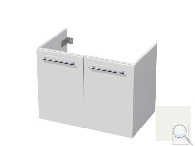 Koupelnová skříňka pod umyvadlo Naturel Ratio 80x61,5x40 cm bílá lesk CU802D56.9016G obr. 1