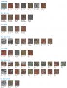Tvarovka štípaná dělitelná (Barvy KB 1-21 B Standard)