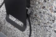 Sprchový panel SIKO na stěnu černá/chrom ALUSHOWERC (obr. 12)