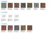 Tvarovka štípaná ze 4 stran - sloupová (Barvy KB 15-21 B 400  Standard)