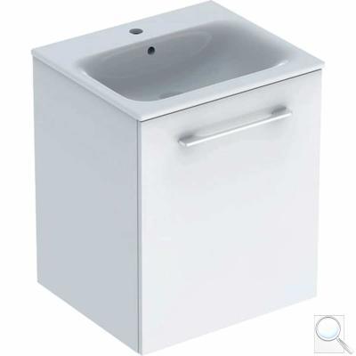Koupelnová skříňka sumyvadlem Selnova bílá lesk