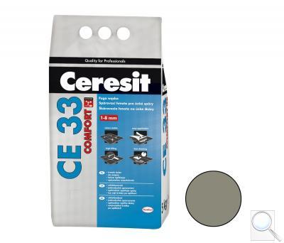 Spárovací hmota Ceresit CE 33 antracite 5 kg CG1