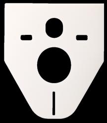 Zvukoizolační vložka k WC