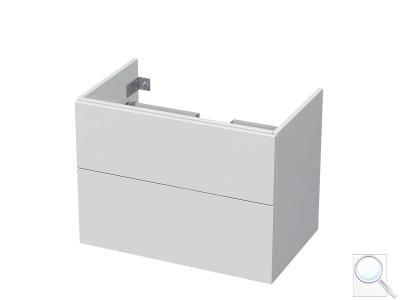 Koupelnová skříňka pod umyvadlo Naturel Ratio 80x61,5x40 cm bílá lesk CU802Z56PU.9016G obr. 1