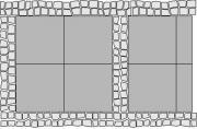 Vymývaný povrch (vzorová skladba vd7)