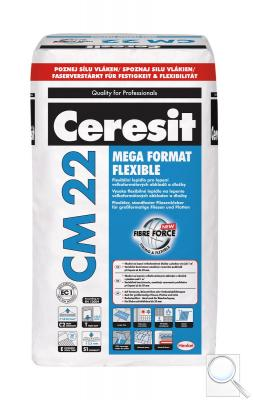 Lepidlo Ceresit CM 22 šedá 25 kg C2TE S1