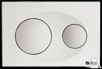 Tlačítko SIKO napodomítkové nádrže bílá, mat