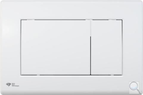 Ovládací tlačítko SAT plast bílá lesk SATAT20 obr. 1
