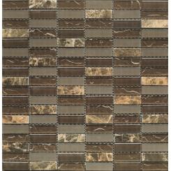Mozaika brown | rozměr:  30 x 30 cm | kód: MAGICMOSBR