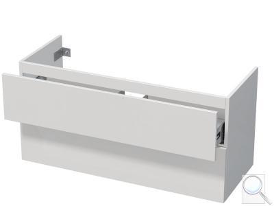 Koupelnová skříňka pod umyvadlo Naturel Ratio 122x56x38,5 cm bílá lesk PN1252Z56PU.9016G obr. 1