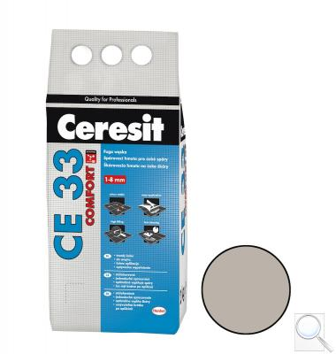 Spárovací hmota Ceresit CE 33 šedá 2 kg CG1