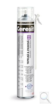 PU pěna Ceresit WhiteTeq bílá 750 ml