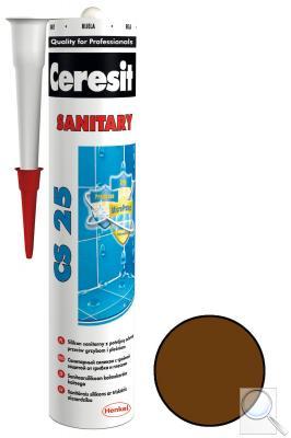 Silikon Ceresit CS 25 chocolate 280 ml