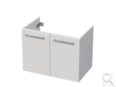 Koupelnová skříňka pod umyvadlo Naturel Ratio 75,5x56x37 cm bílá lesk PN802D56.9016G obr. 1