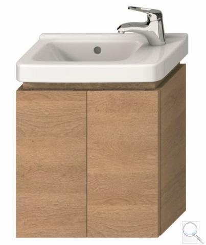 Koupelnová skříňka pod umyvadlo Jika Cubito 45x24,1x48 cm dub H40J4202005191 obr. 1