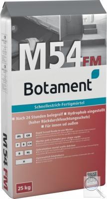 Rychleschnoucí potěr M54FM