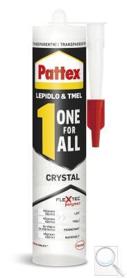 Lepidlo Pattex ONE FOR ALL CRYSTAL 290 g PATTEXOFACR obr. 1