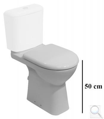 WC kombi, pouze mísa Jika Deep spodní odpad H8236170000001 obr. 1